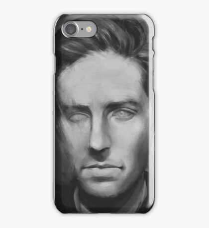 Armie Hammer Painting iPhone Case/Skin