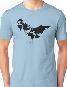 Chicken or continents? Unisex T-Shirt