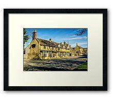 Broadway Village, Worcestershire Framed Print