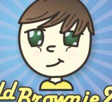 BaldBrownie22 Pillow Sticker