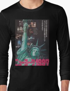 Escape From New York Japan Poster Long Sleeve T-Shirt