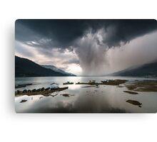 A Storm Coming Canvas Print