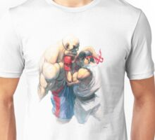Street Fighter #1 - Sagat vs Ryu Unisex T-Shirt