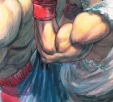 Street Fighter #1 - Sagat vs Ryu Sticker