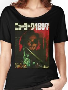 Escape From New York Japan Poster Women's Relaxed Fit T-Shirt