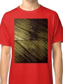 Line Art - The Scratch, yellow Classic T-Shirt