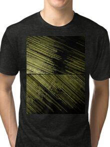 Line Art - The Scratch, yellow Tri-blend T-Shirt