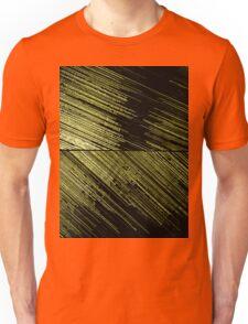 Line Art - The Scratch, yellow Unisex T-Shirt