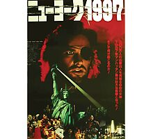 Escape From New York Japan Poster Photographic Print
