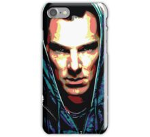 Benedict Cumberbatch: You Think Your World is Safe? iPhone Case/Skin