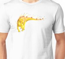 Gold Kentrosaurus Unisex T-Shirt