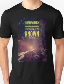 Space Exploration (Carl Sagan Quote) T-Shirt
