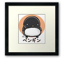 Penguin by Indigo Framed Print