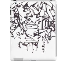 Psychedelic Twisted Lines iPad Case/Skin