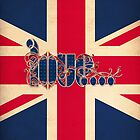 LOVE - Union Jack by ifourdezign