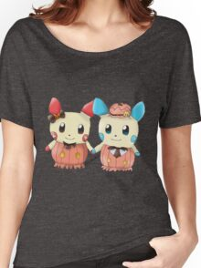 Halloween Plusle And Minun Women's Relaxed Fit T-Shirt