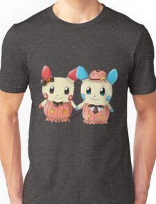 Halloween Plusle And Minun Unisex T-Shirt