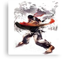 Street Fighter #2 - Ryu Canvas Print