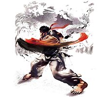 Street Fighter #2 - Ryu Photographic Print