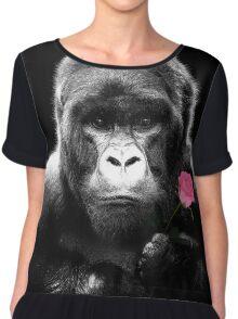 Gorilla Rose Chiffon Top