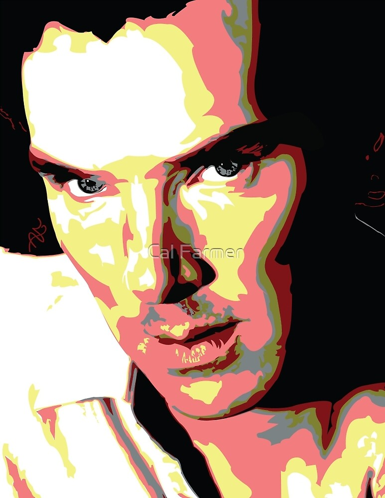 Benedict Cumberbatch by watsonedshezza
