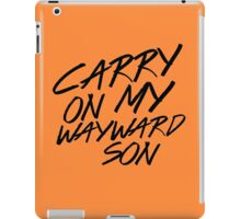 Carry On iPad Case/Skin