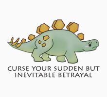 Firefly Wash's stegosaurus quote. Kids Tee