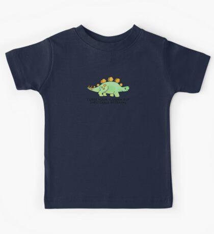 Firefly Wash's stegosaurus quote. Kids Tee