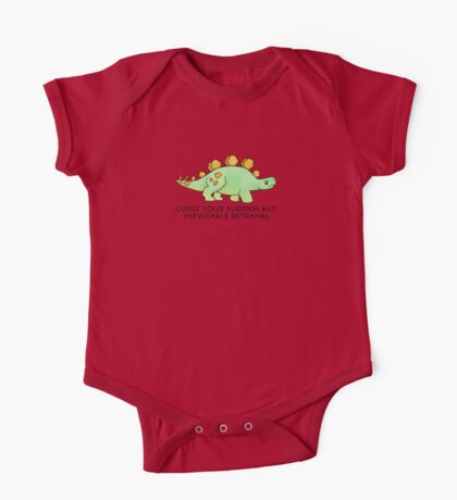 Firefly Wash's stegosaurus quote. One Piece - Short Sleeve