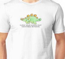 Firefly Wash's stegosaurus quote. Unisex T-Shirt