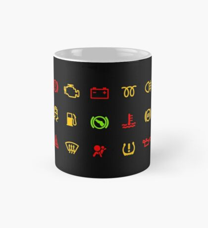 WARNING LIGHTS ON CAR  Mug