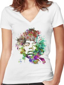 Hendrix Women's Fitted V-Neck T-Shirt
