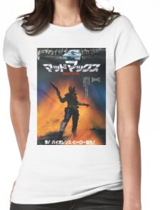Mad Max Japanese Poster Womens Fitted T-Shirt