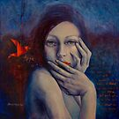 The Red Bird by dorina costras