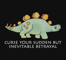 Firefly Wash's stegosaurus quote. (darker backgrounds) Kids Tee