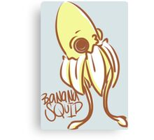 BaNaNa SQUiD by Indigo East Canvas Print