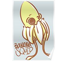BaNaNa SQUiD by Indigo East Poster