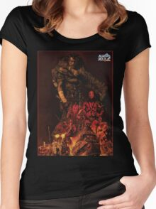 Mad Max 2 Road Warrior  Women's Fitted Scoop T-Shirt