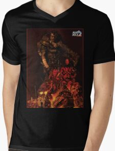 Mad Max 2 Road Warrior  Mens V-Neck T-Shirt