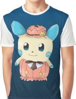 Halloween Minun Graphic T-Shirt
