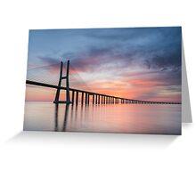 Vasco da Gama Sunset Greeting Card