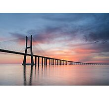 Vasco da Gama Sunset Photographic Print