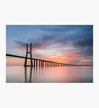 Vasco da Gama Sunset Photographic Print