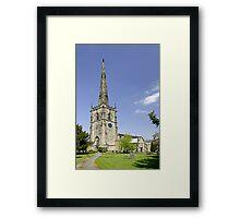 St Wystan's Church, Repton Framed Print