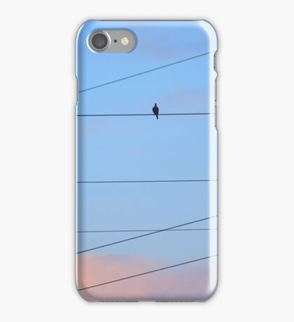 high above a crested cloud... iPhone Case/Skin