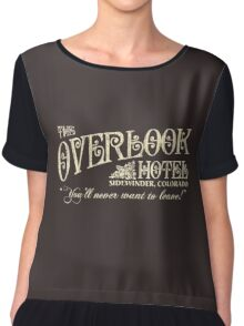 The Shining Overlook Hotel Chiffon Top