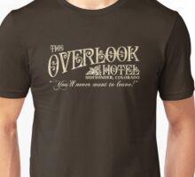 The Shining Overlook Hotel Unisex T-Shirt