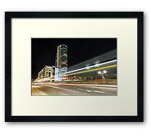 Bridgewater Blaze Framed Print