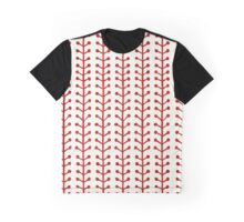 Watercolor Berry Stripes Graphic T-Shirt