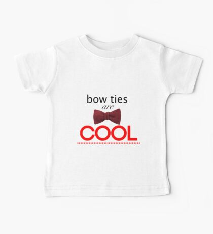 Doctor Who - Bow Ties Are Cool Baby Tee